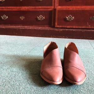 Brown genuin leather Dorsey booties
